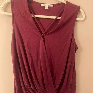 Francescas burgundy tank top